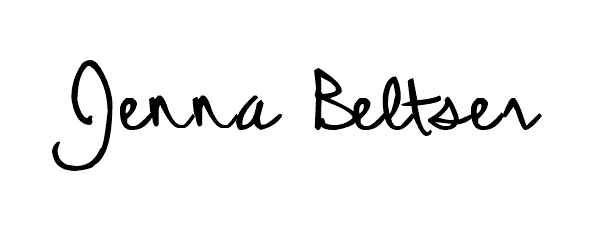 Jenna Beltser Signature