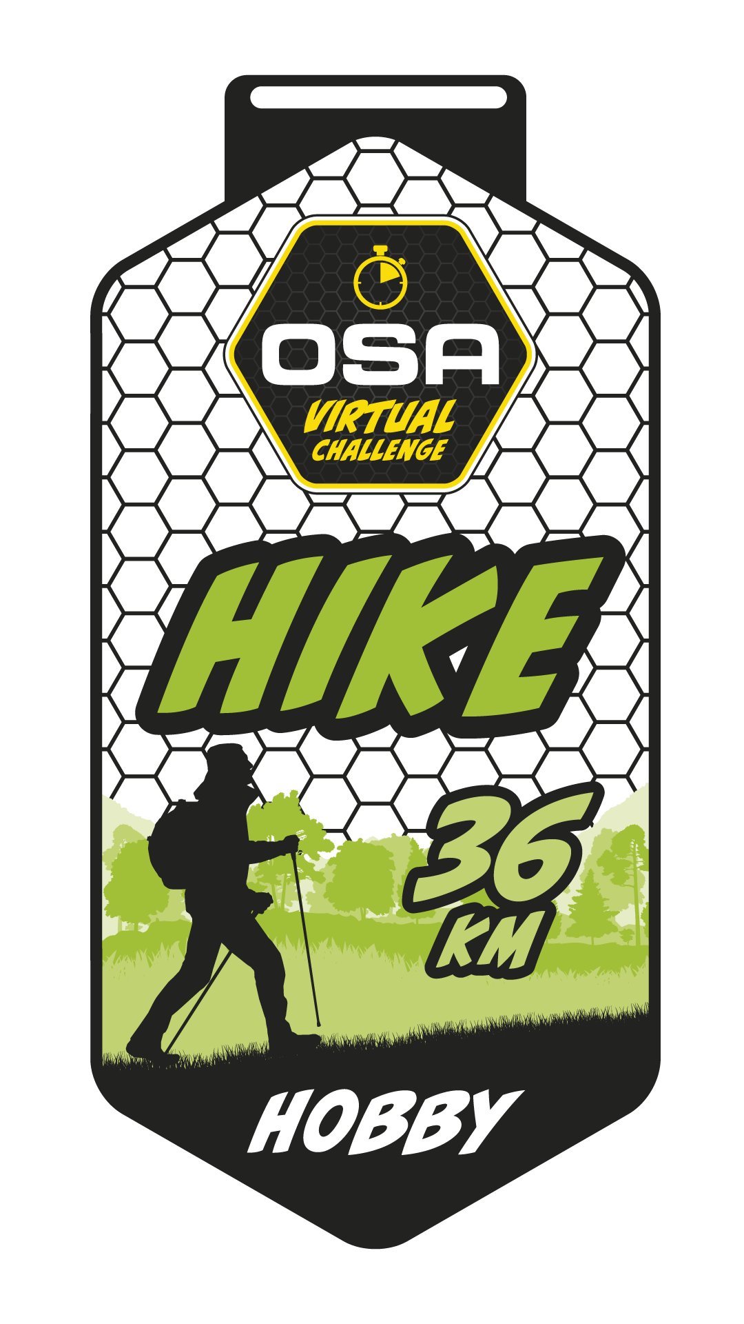Medaila Hobby-Hike