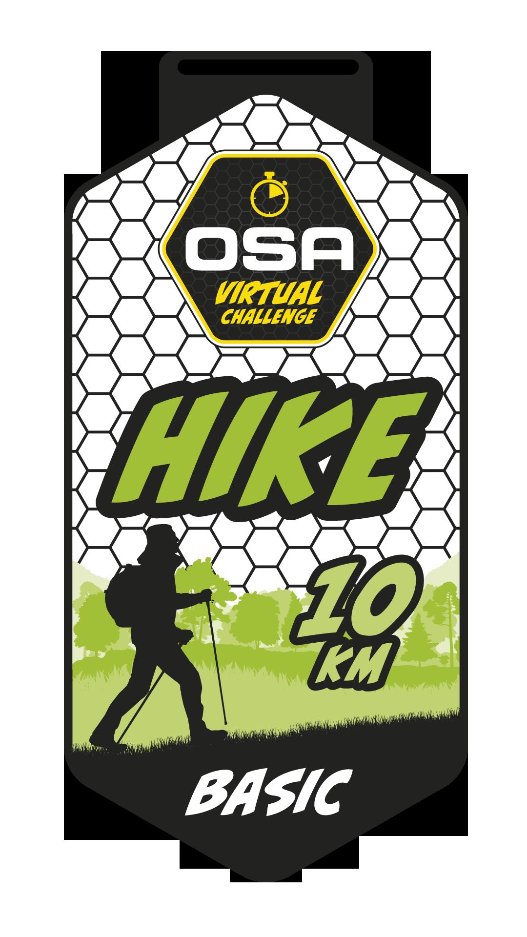 Medaila Basic-Hike