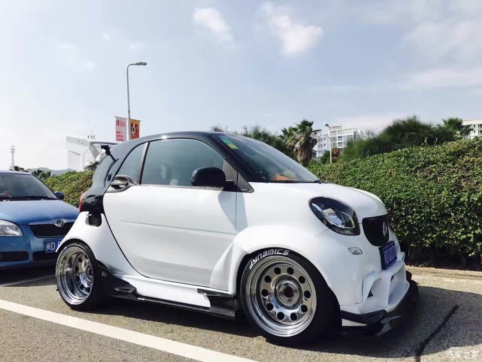 smart car forums view single post wide body smart 453. Black Bedroom Furniture Sets. Home Design Ideas