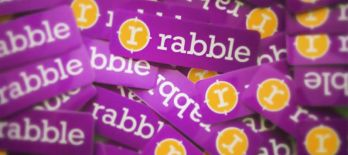 Rabble stickers