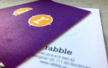 Rabble business cards