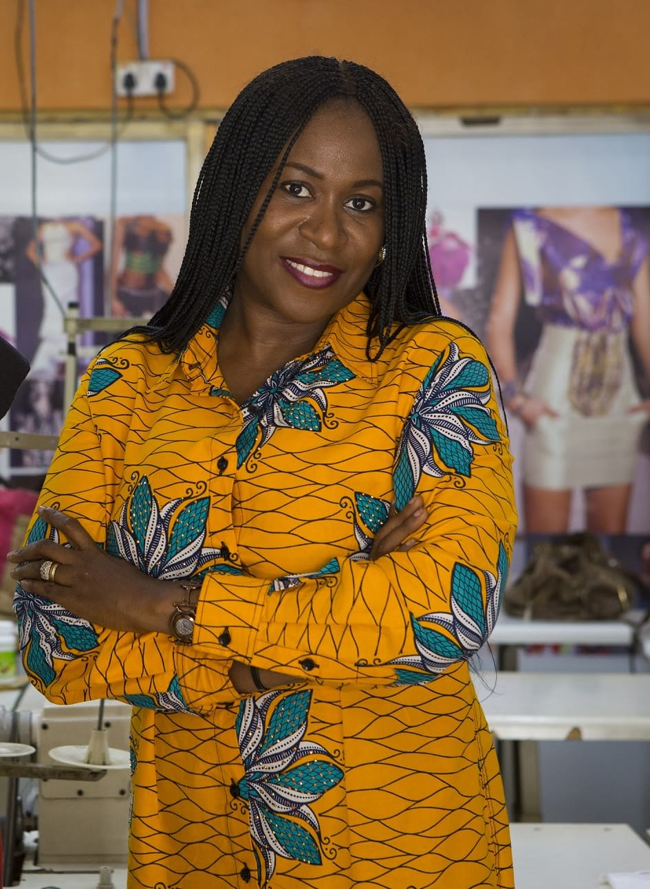Mrs Olusola Babatunde - Founder OSC Fashion