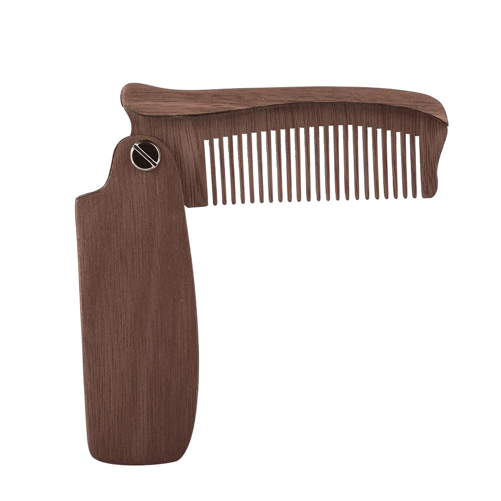 Folding Moustache & Beard Comb
