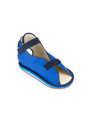 Canvas Rocker Bottom Cast Shoe