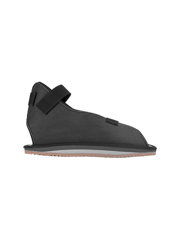 Canvas Rocker Bottom Cast Shoe