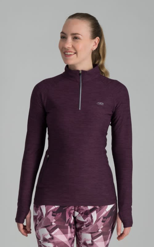 Trailblazer 1/4 Zip Long Sleeve Top