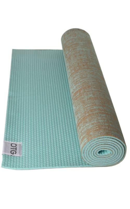 Jute & PVC Yoga Mat 5mm