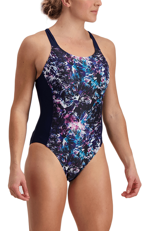 Musk Flower Barcelona Performance One Piece Swimsuit