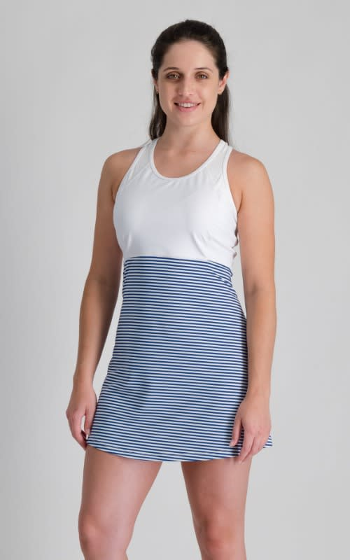 Nautical Tennis Dress