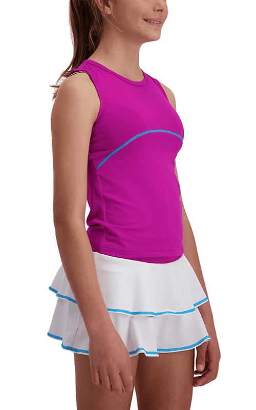 Girls Swing Y-Back Tennis Top