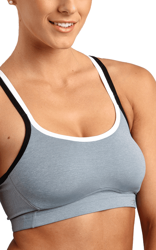Strappy Back Crop Sports Bra
