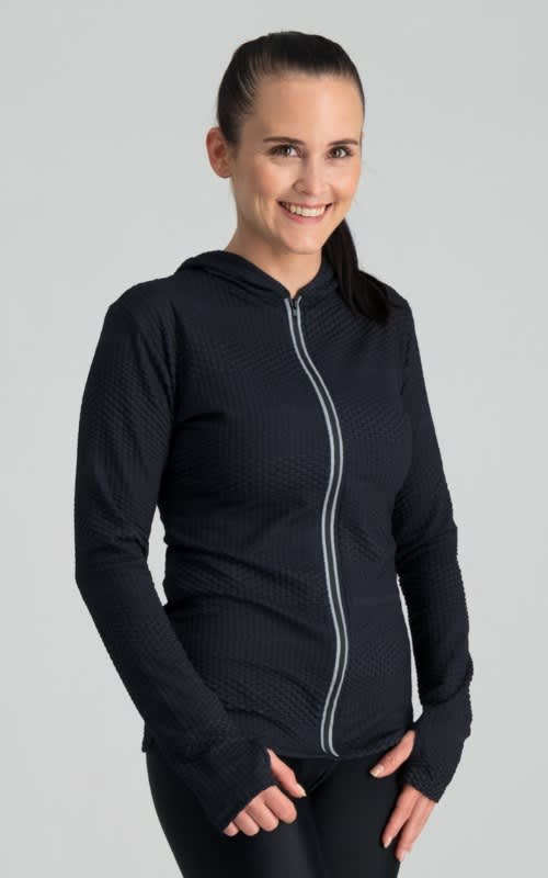 Darkdiva Long Sleeve Run Jacket