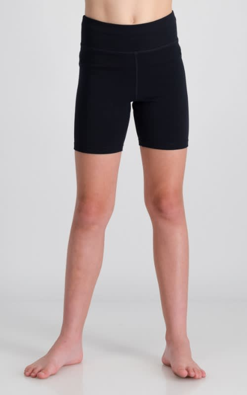 Girls Cotton Lycra Short Tight