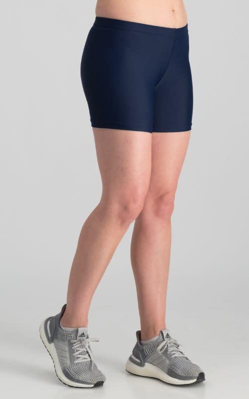 Lycra Hot Pant - Navy