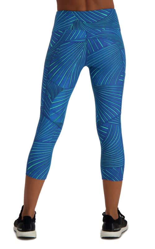 Vigor Blues Running Capri - Blue