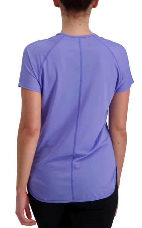 Volare Running Tee Shirt - Purple Melange