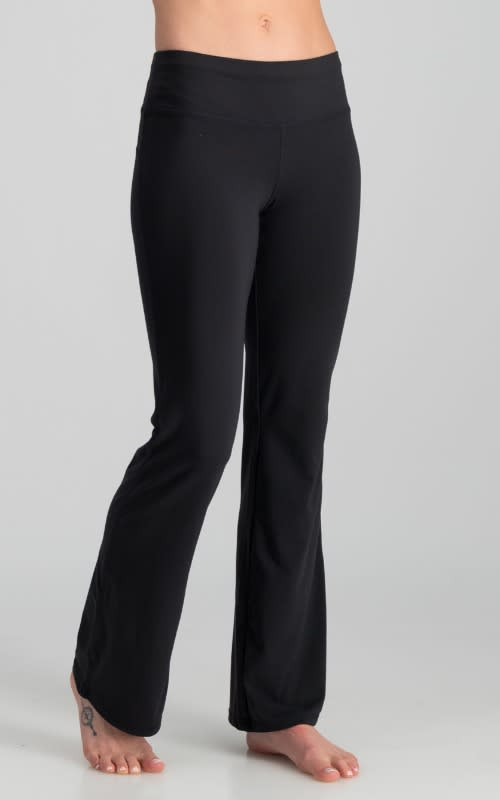Core Support Workout Pant - Black