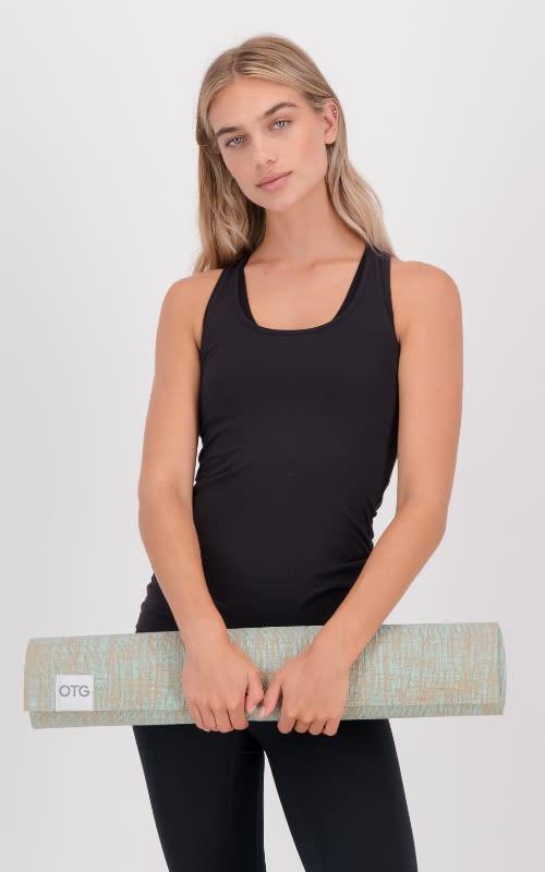 Yoga Mat - Aqua 318 C