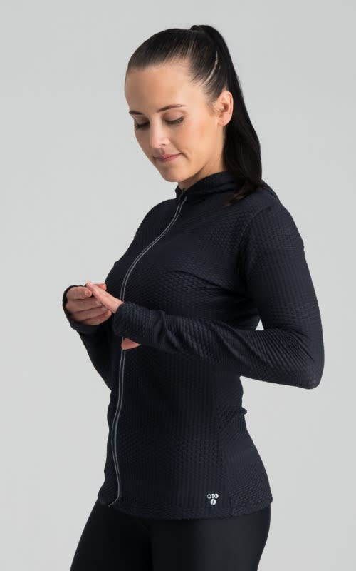 Darkdiva Long Sleeve Run Jacket - default