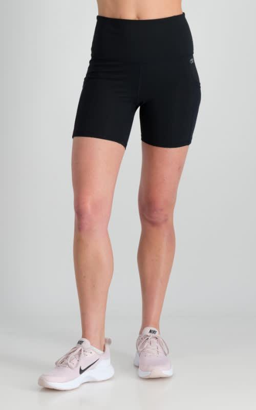 Power Run Short Tight - Black