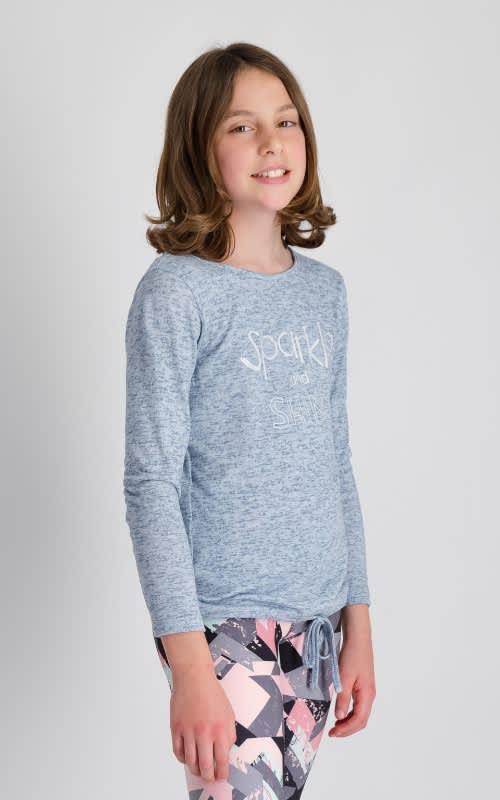 Girls Sparkle Long Sleeve  - default