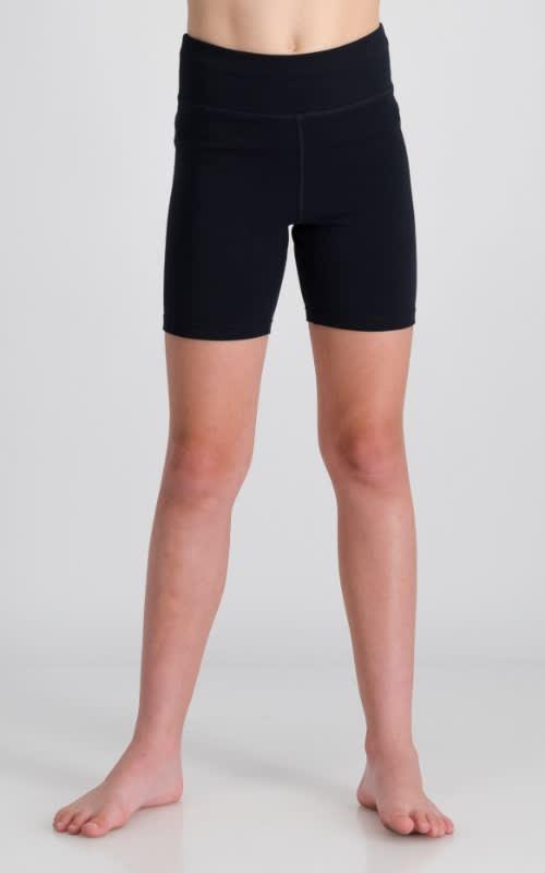 Girls Cotton Lycra Short Tight - default