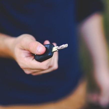 Clés prêt de voiture