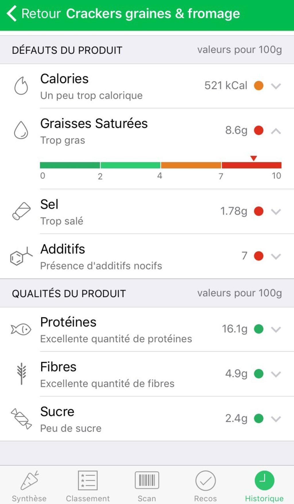 App Yuka - Test Yuka mauvais produit - Santé - 750x1284 - JPG