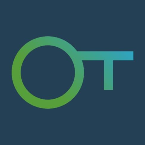 Logo Otherwise bleu clé