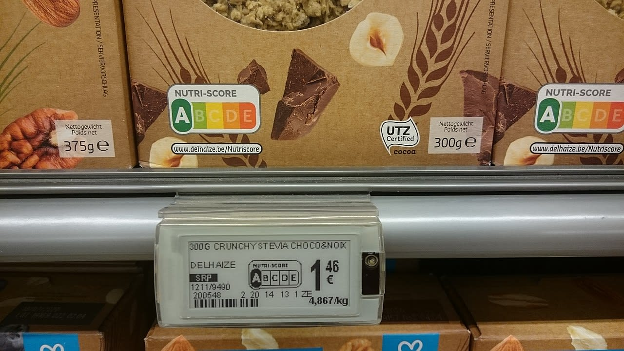 Nutri score - Alimentation nutriscore produit - santé - 1280X720 - JPG