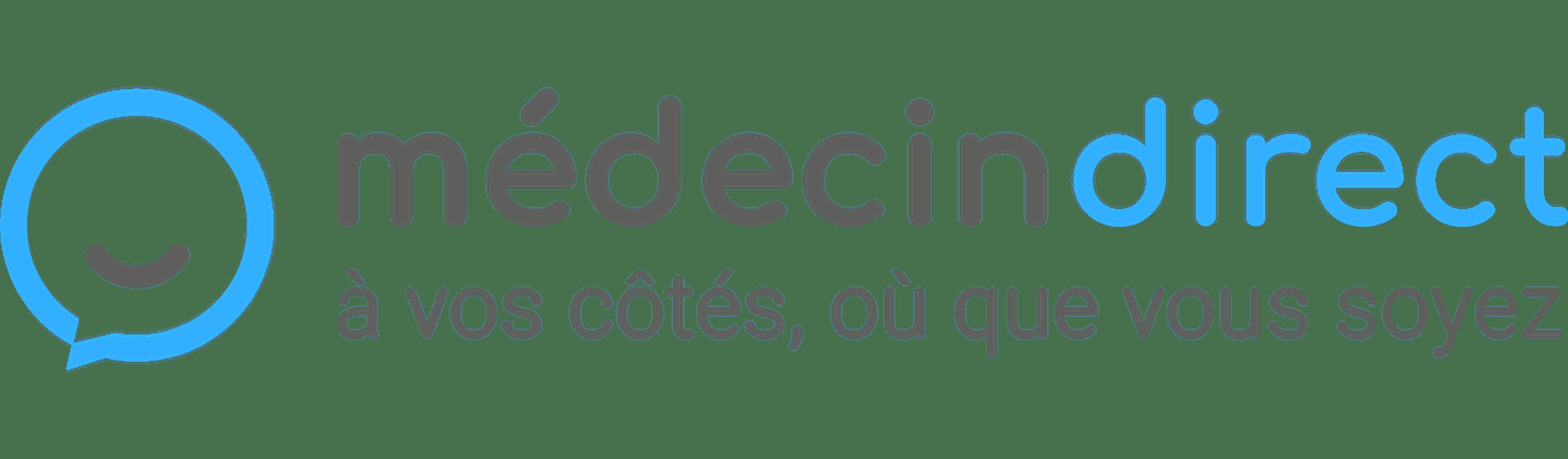 Logo - Médecin direct - Santé - 2725x799 - PNG