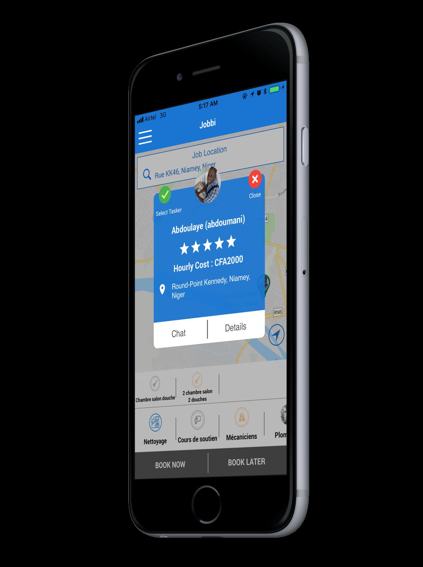 Développement d'applications mobile