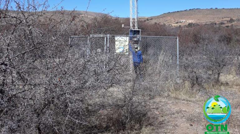 El equipo técnico de la OTN-PB realizaron el mantenimiento de las estaciones de Yesera Norte y Junacas