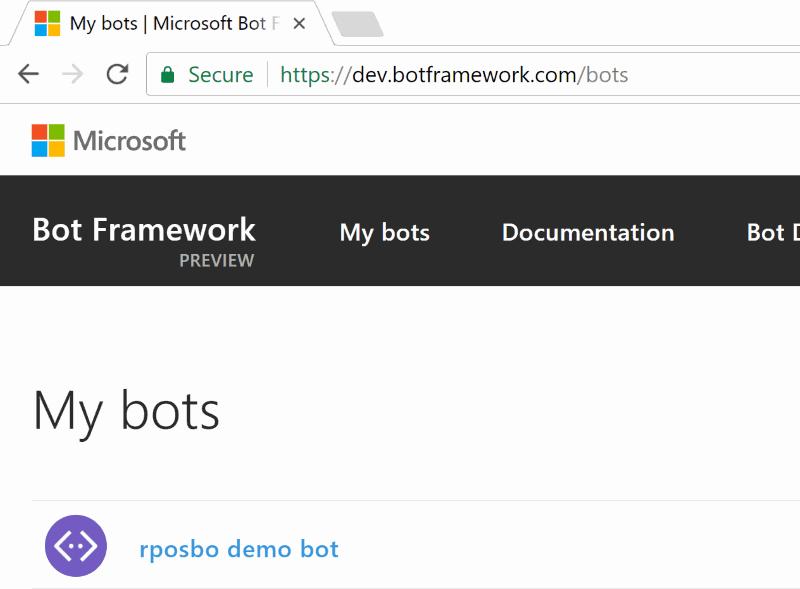 bot listing