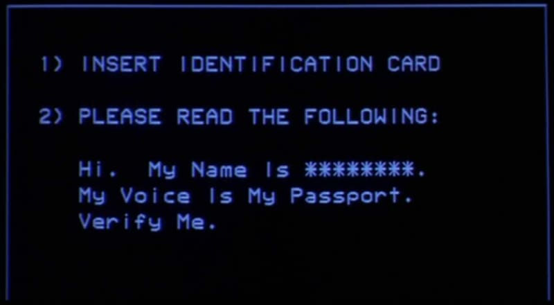 My voice is my passport. Verify me.