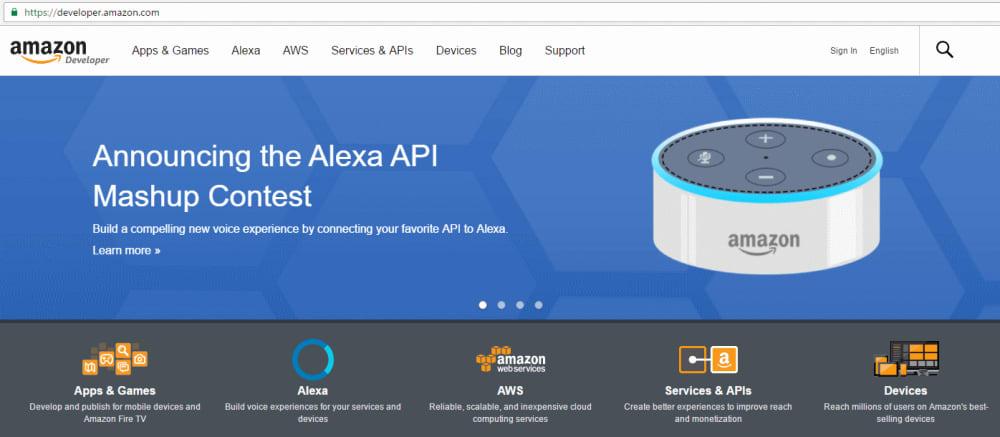 Amazon Developer Portal