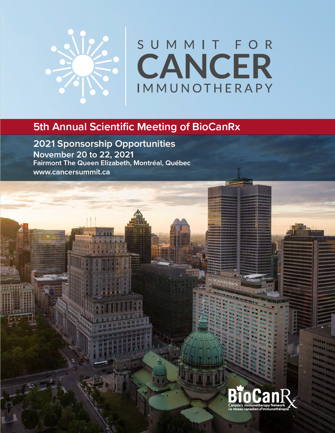 Summit for Cancer Immunotherapy sponsorship opportunities