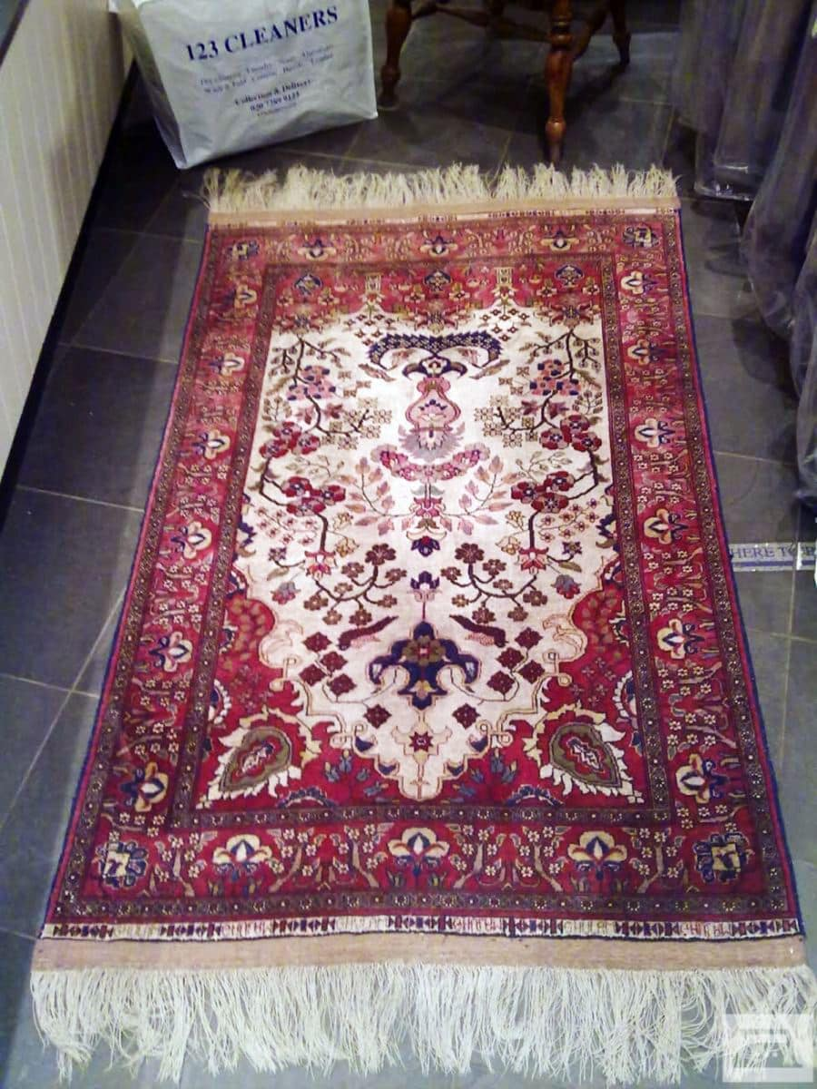 Results of 123 Cleaners Rug Cleaning Services can easily be seen