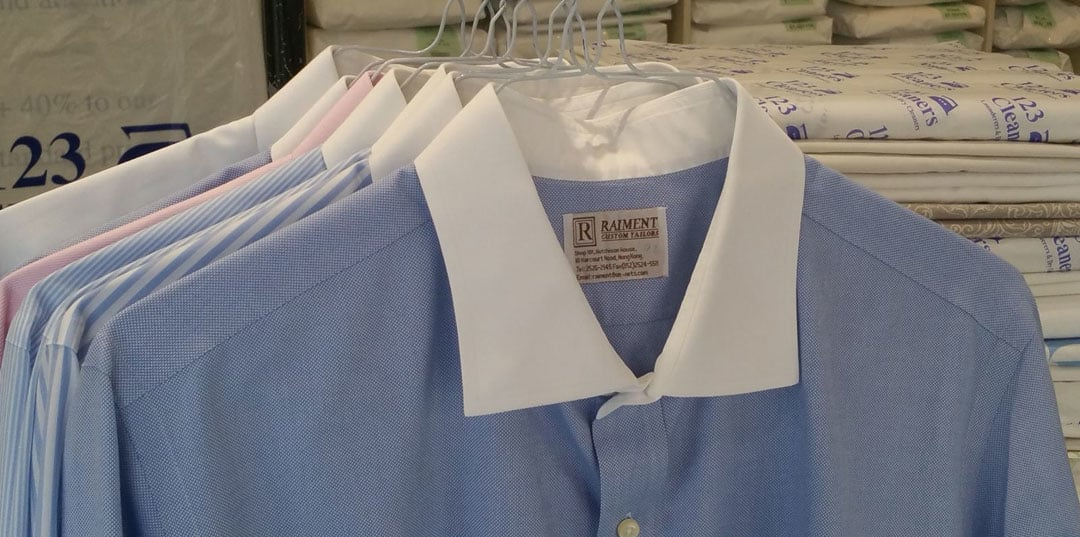 Shirt Cleaning Services in London from 123 Cleaners