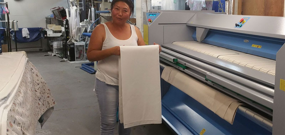 Linen Laundry Services for Bed Sheets and much more from 123 Cleaners