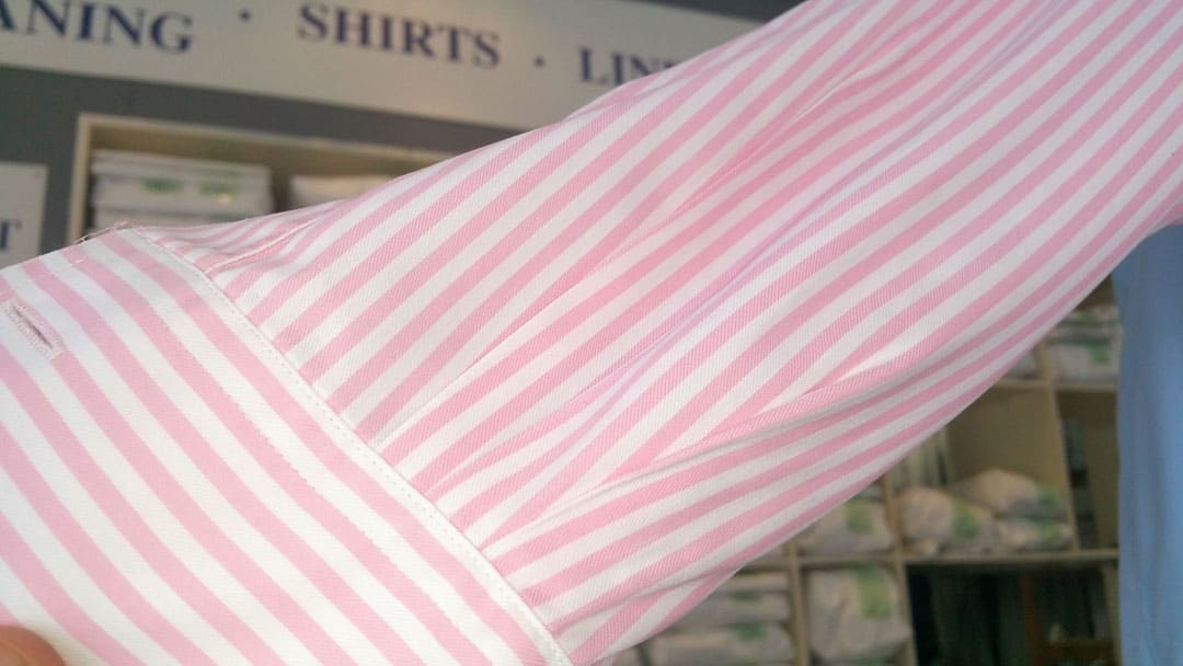 Cleaning the Cuffs of Shirts from 123 Cleaners