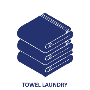 Towel Laundry from 123 Cleaners