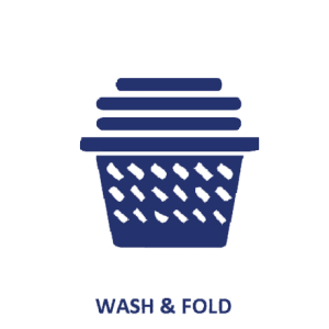 Wash, Dry and Fold, Service washes from 123 Cleaners