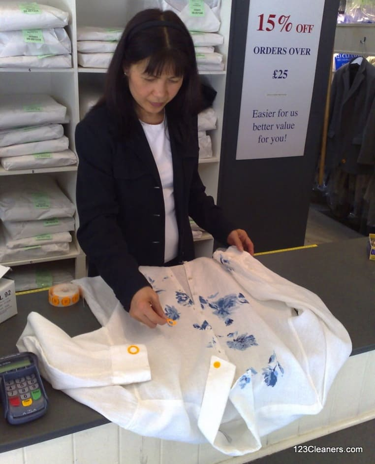 Specialist Dry Cleaning Services Available from 123 Cleaners