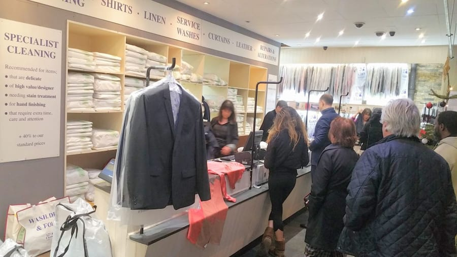 Britains Busiest Dry Cleaning Shop