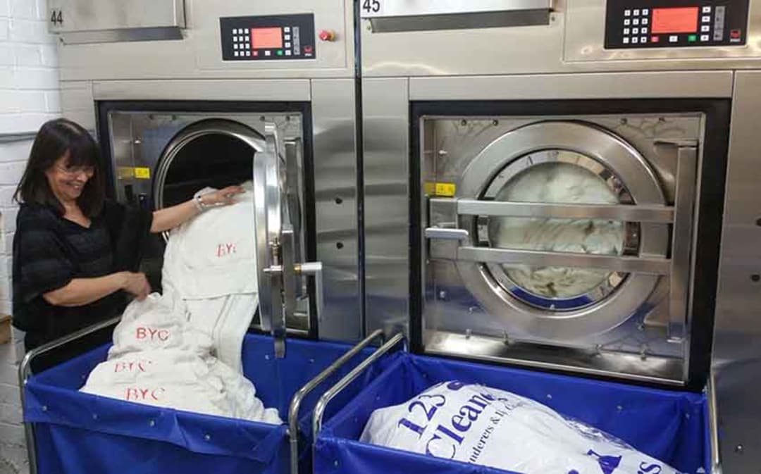 Commercial Laundry Services in London from 123 Cleaners