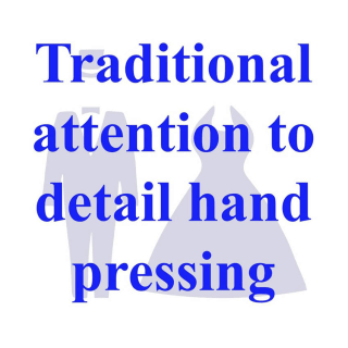 Traditional Hand Finished Dry Cleaning Services in London from 123 Cleaners