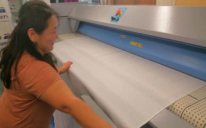 Table Cloth Cleaning Procedure from 123 Cleaners