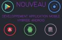 Développement Application Mobile Hybride Angular / IONIC